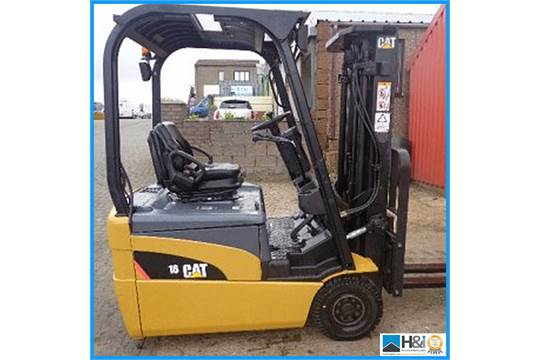 CATERPILLAR EP16NT-48E, 2007,1 6 TON ELECTRIC FORKLIFT, C/W