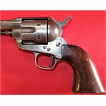 New South Wales Police Colt Single Action revolver