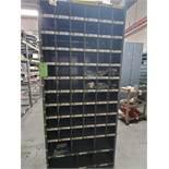 Metal Shelving with 13 Shelves