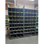 Metal Shelving with 9 shelves, 85H 36W 18.5D