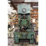 "AIDA MODEL CI-8(1) PUNCH PRESS, 80 TON CAPACITY, 40-155 SPM, 52.36"" X 23.62"" BOLSTER AREA, 21.26"""