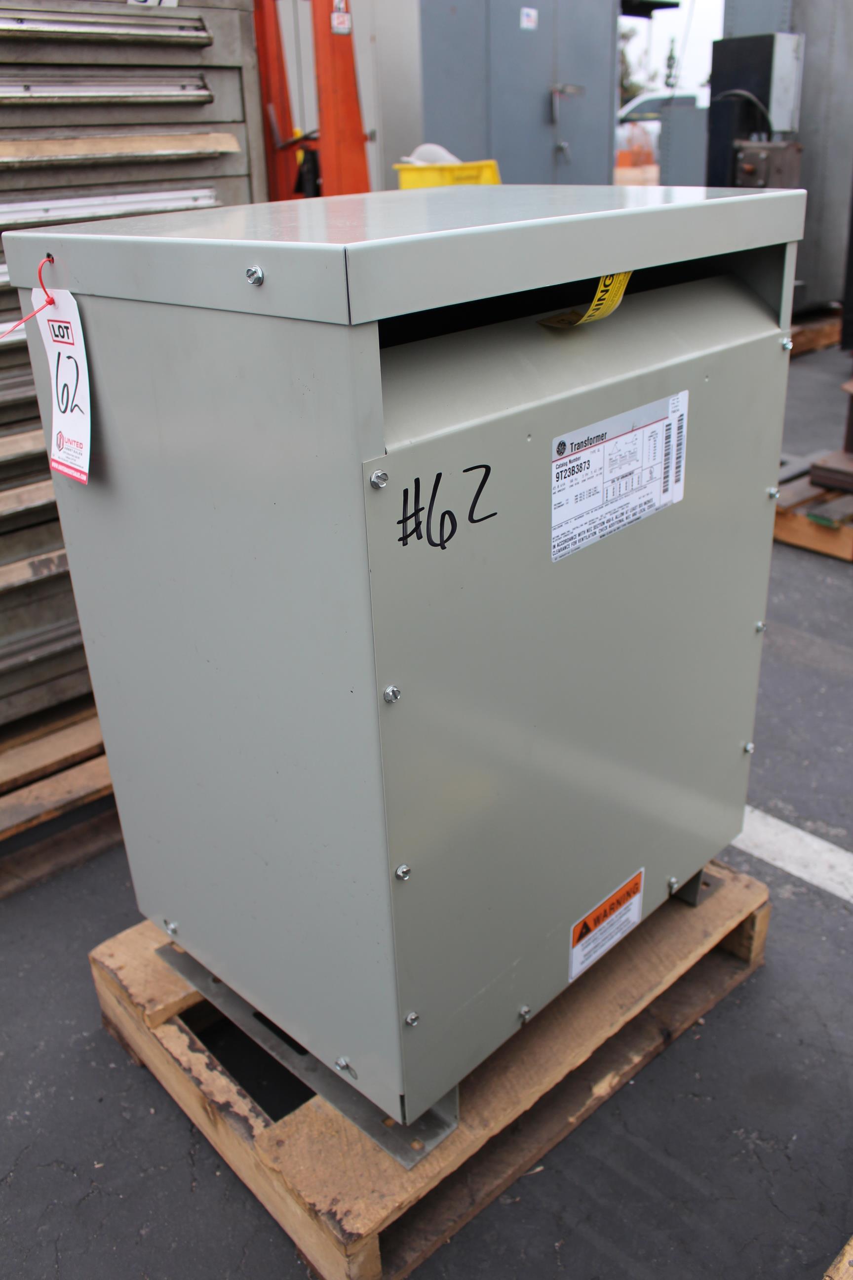 GE TRANSFORMER, 45 KVA