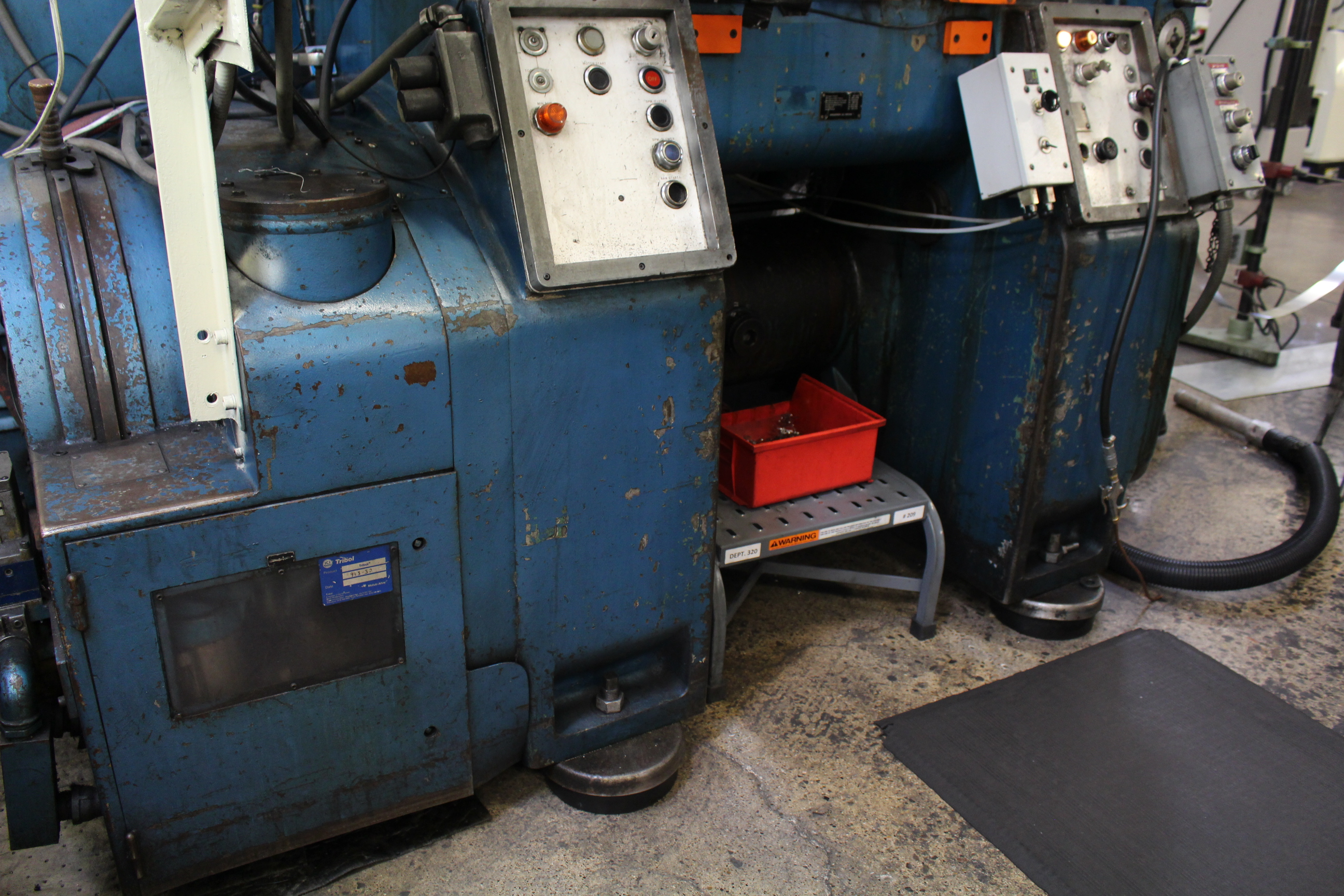 BRUDERER MODEL BSTA-60H HIGH SPEED STAMPING PRESS, 60-TON, DIE PRO 1500 WINTRISS DIE PROTECTION, 4 - Image 8 of 20