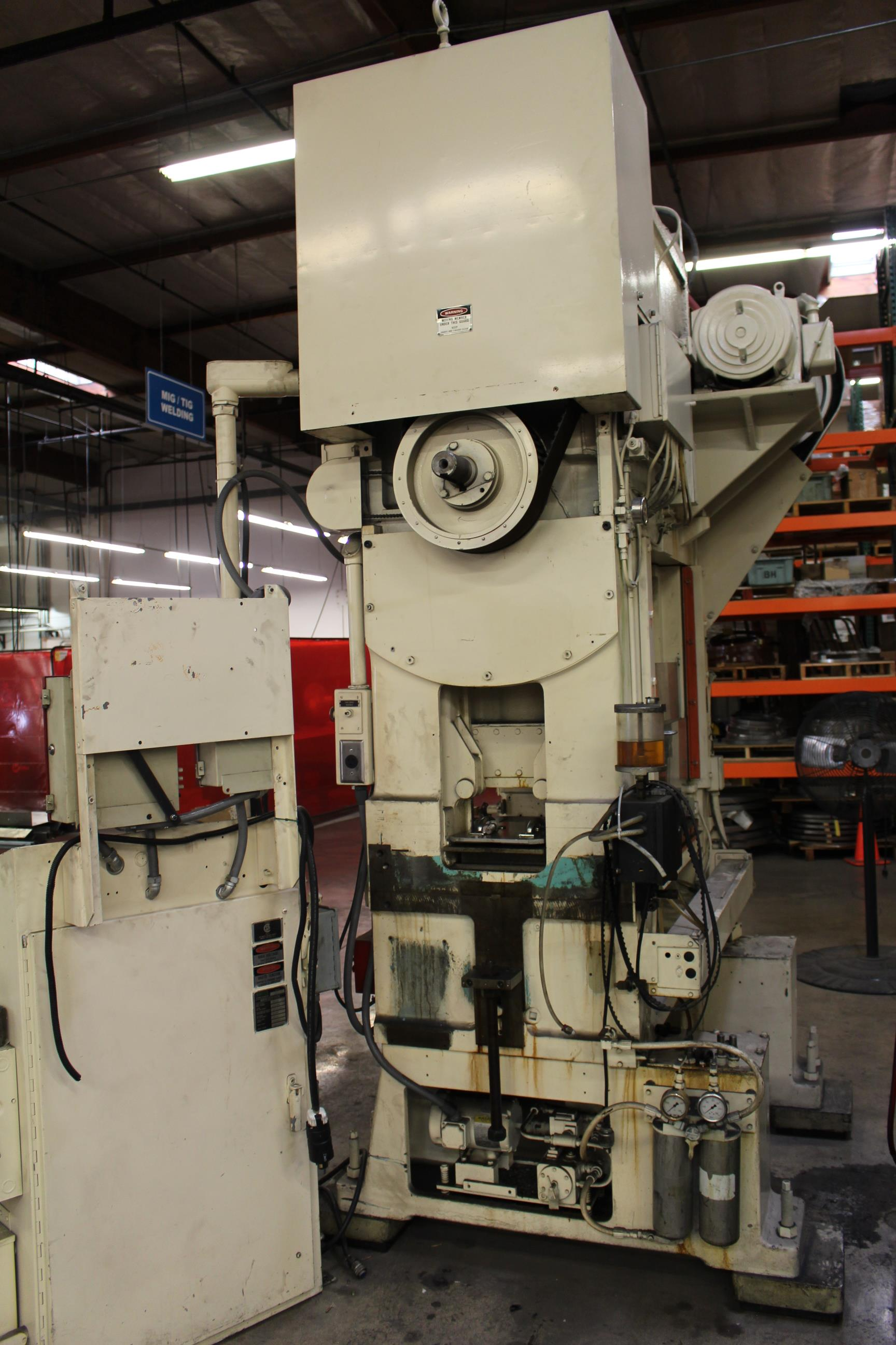 "MINSTER MODEL PM2-30-30 HIGH SPEED PUNCH PRESS, 30 TON CAPACITY, 30"" X 20"" BOLSTER, 0-1,000 SPM, 1- - Image 12 of 18"