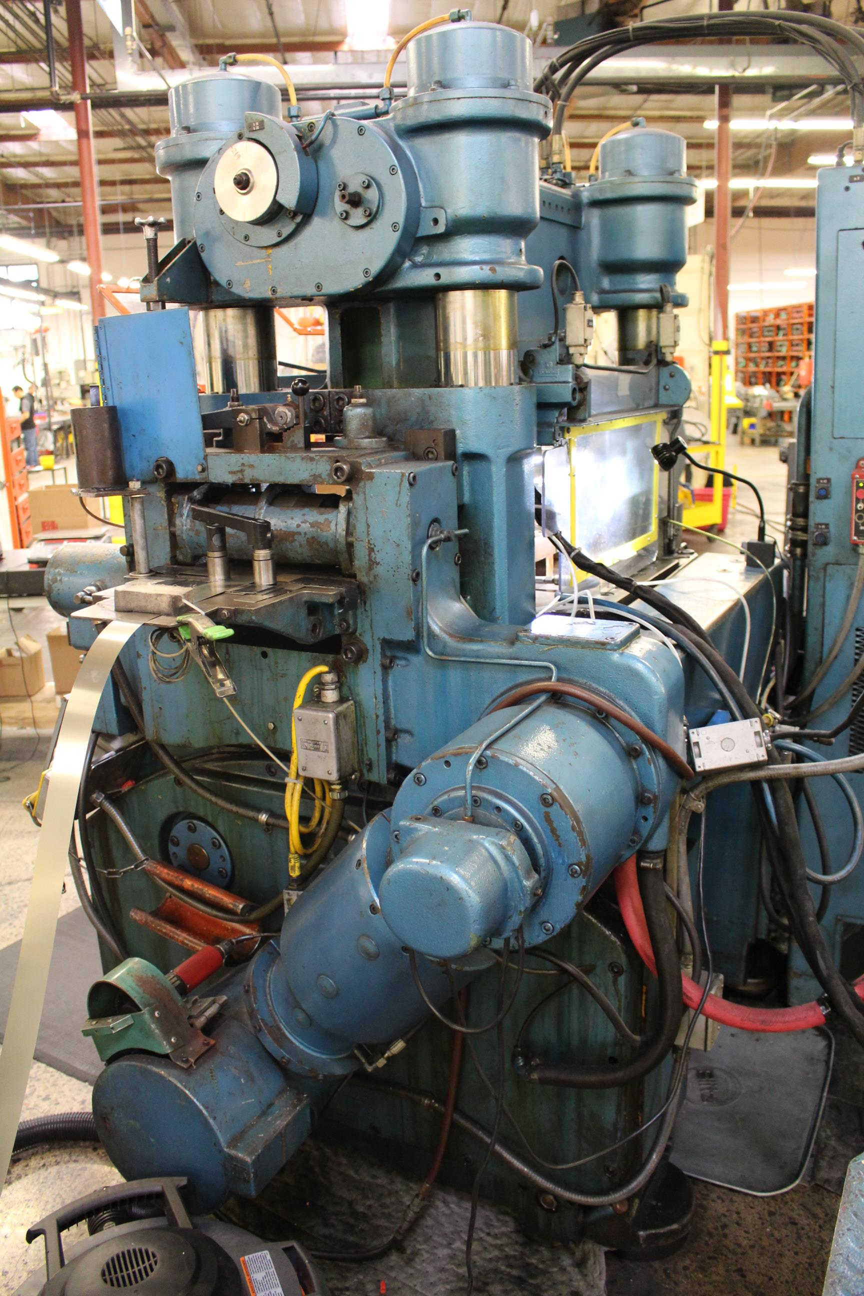 BRUDERER MODEL BSTA-60H HIGH SPEED STAMPING PRESS, 60-TON, DIE PRO 1500 WINTRISS DIE PROTECTION, 4 - Image 14 of 20