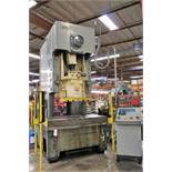 "AIDA MODEL 20 PUNCH PRESS, 200-TON CAPACITY, 33 X 69.5"" BOLSTER PLATE, DIPRO 1500 WINTRISS DIE"