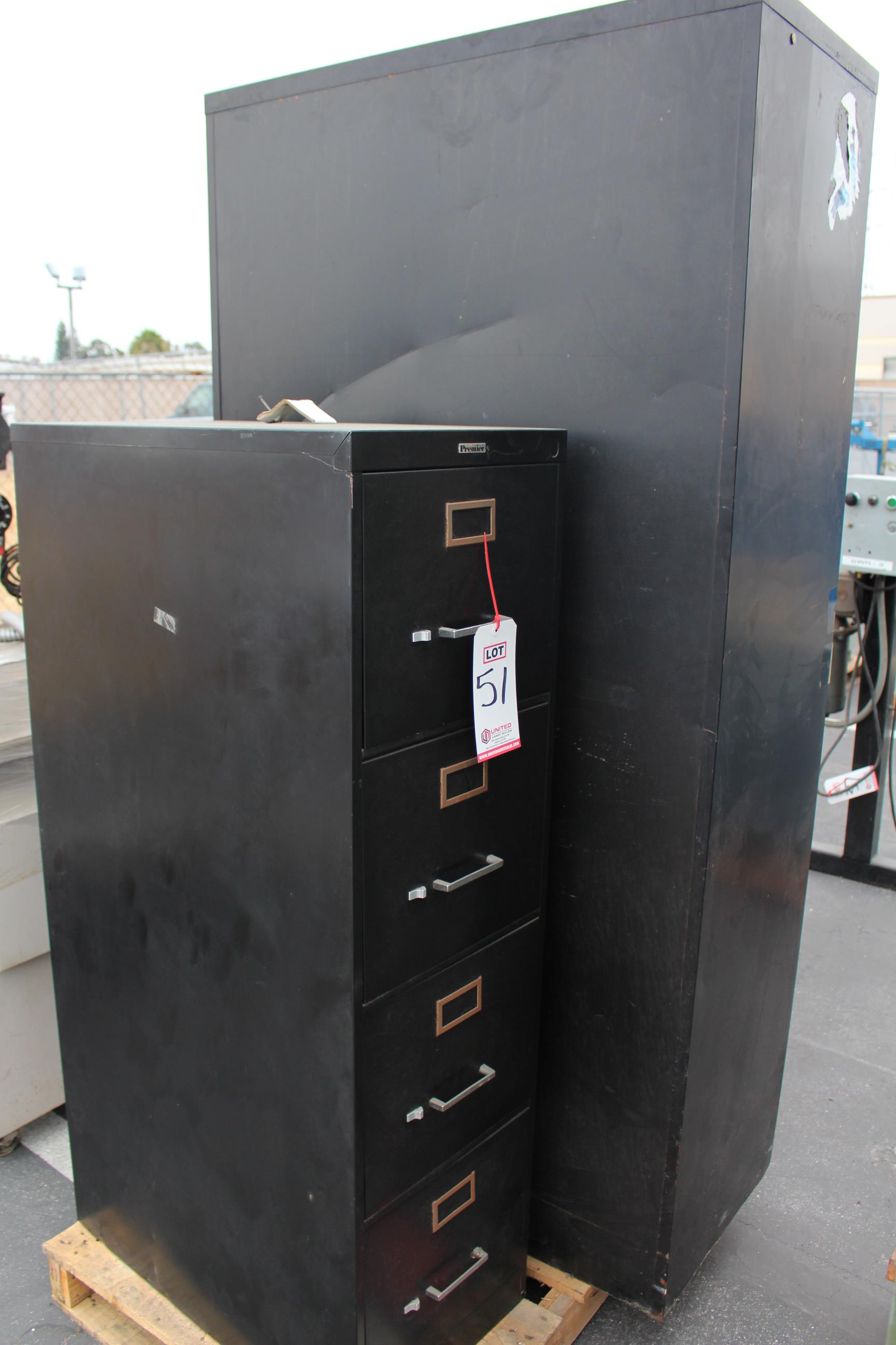 PALLET OF METAL CABINETS