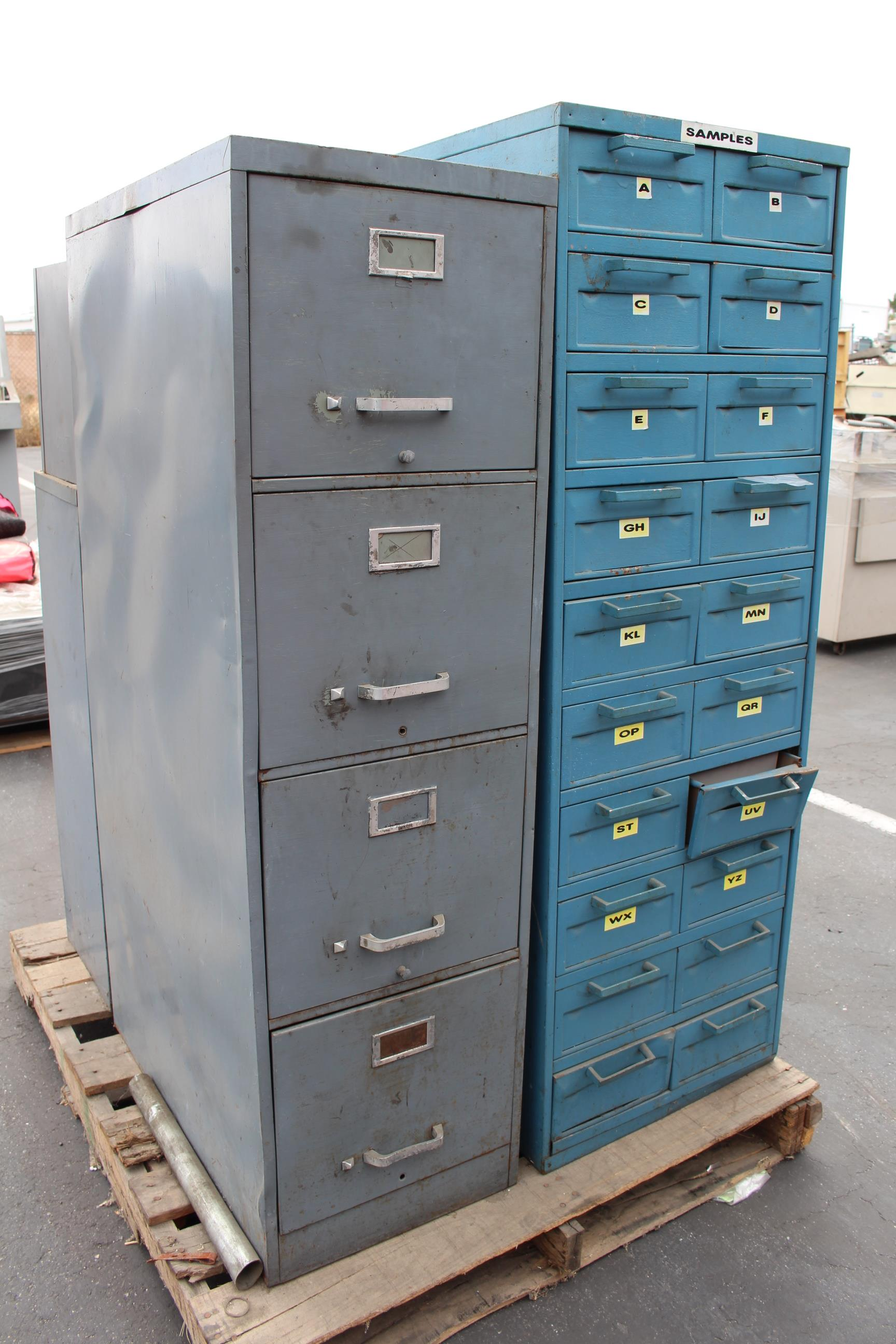 LOT - (4) PARTS CABINETS - Image 2 of 2
