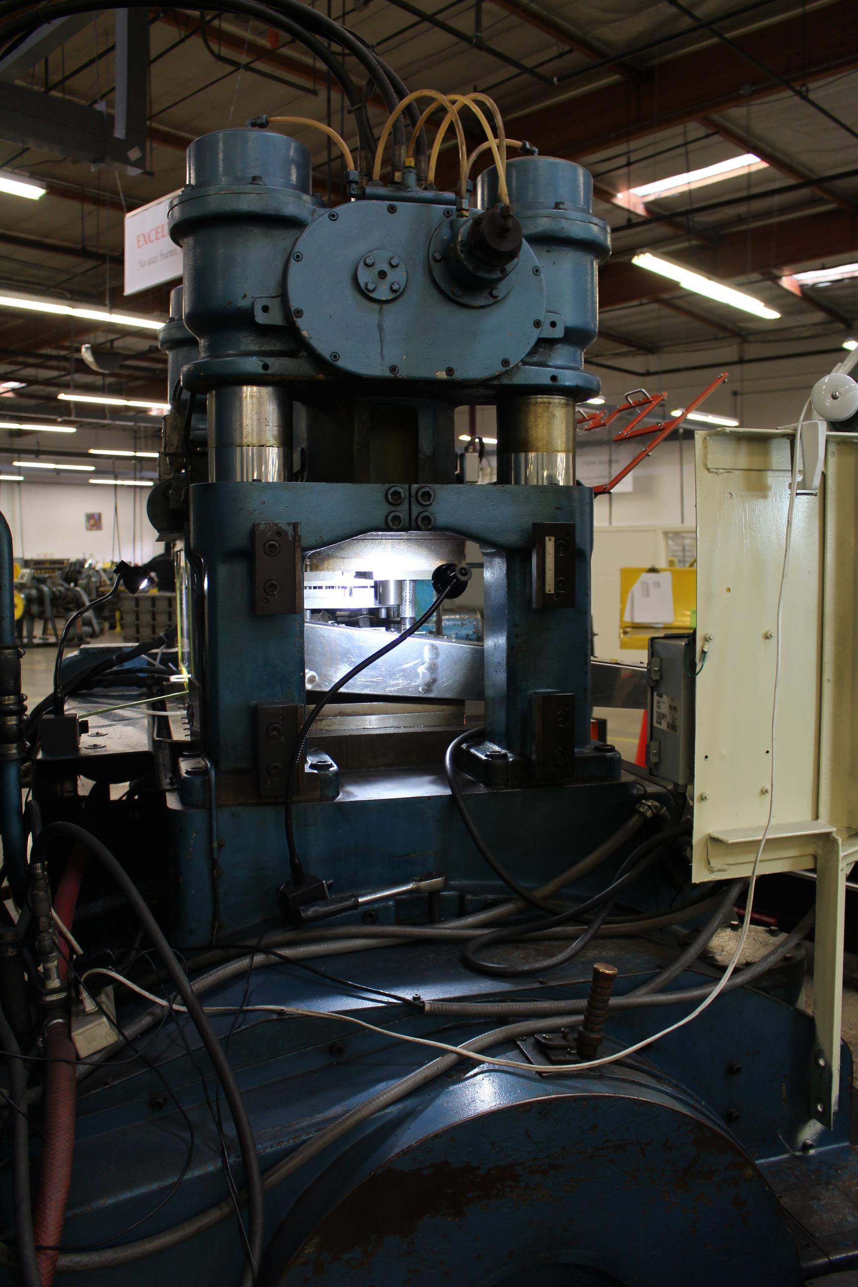 BRUDERER MODEL BSTA-60H HIGH SPEED STAMPING PRESS, 60-TON, DIE PRO 1500 WINTRISS DIE PROTECTION, 4 - Image 10 of 20