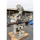 BRIDGEPORT VERTICAL MILL, POWER FEED, S/N BR269222