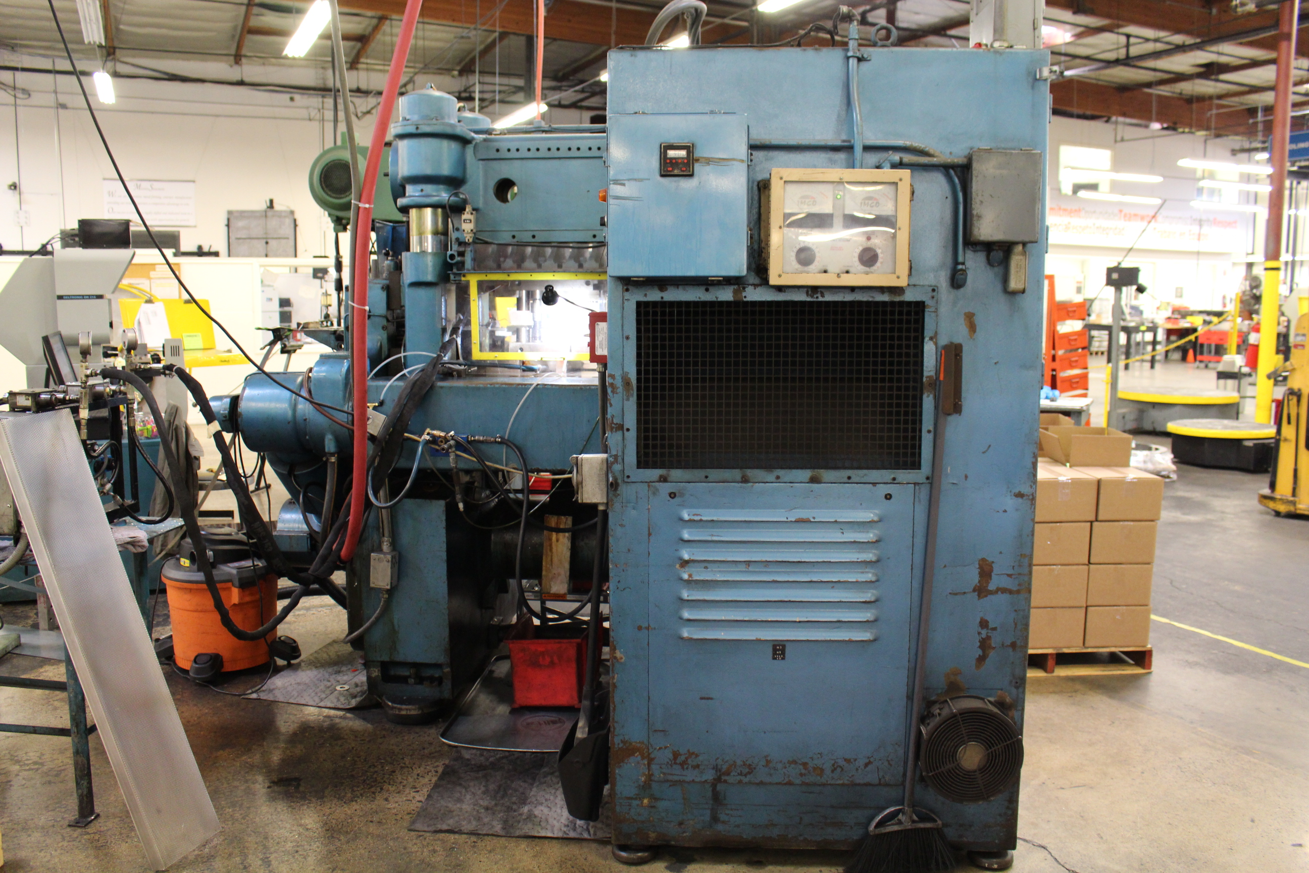 BRUDERER MODEL BSTA-60H HIGH SPEED STAMPING PRESS, 60-TON, DIE PRO 1500 WINTRISS DIE PROTECTION, 4 - Image 11 of 20