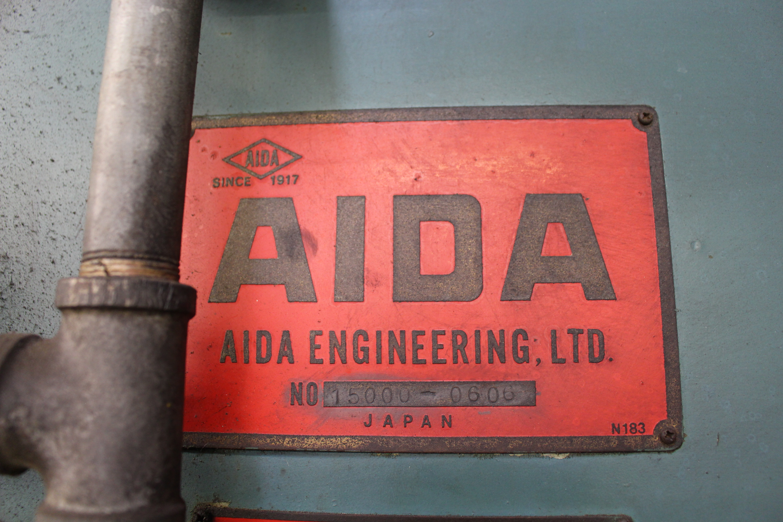 "AIDA MODEL PC-30 PUNCH PRESS, 300 TON CAPACITY,AIR CUSHION, 15.7"" STROKE, 30 SPM, 70"" X 30"" - Image 21 of 21"
