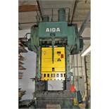 "AIDA MODEL PC-30 PUNCH PRESS, 300 TON CAPACITY,AIR CUSHION, 15.7"" STROKE, 30 SPM, 70"" X 30"""