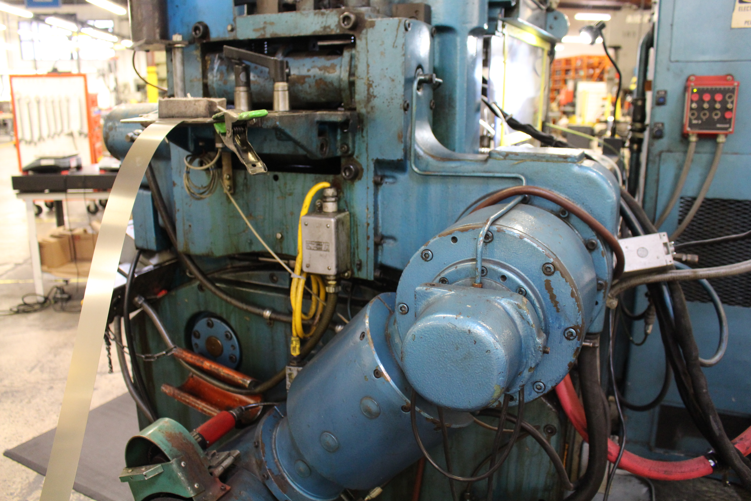 BRUDERER MODEL BSTA-60H HIGH SPEED STAMPING PRESS, 60-TON, DIE PRO 1500 WINTRISS DIE PROTECTION, 4 - Image 16 of 20