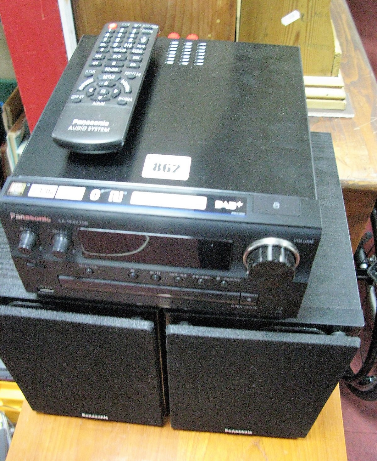 Lot 862 - A Quantity of CD's, floor unit and Panasonic player, (untested, sold for parts only).