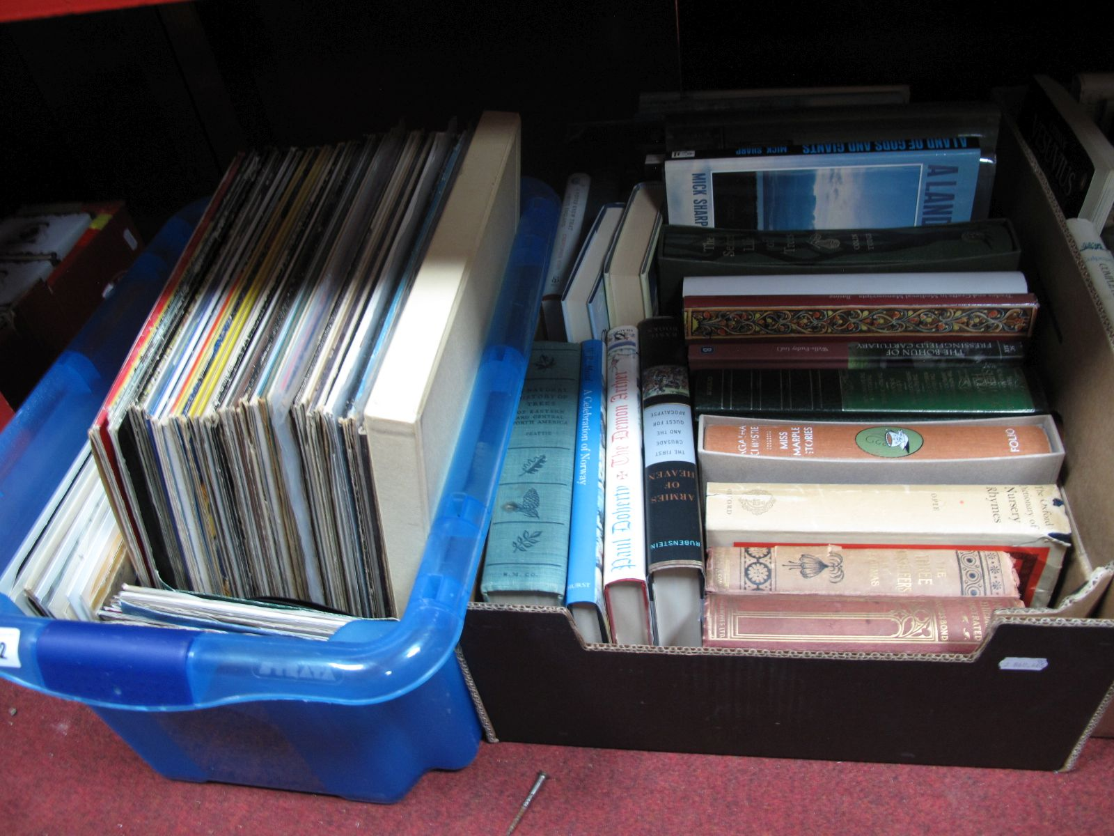 Lot 742 - A Quantity of LP's and 45RPM's, to include Hollies, Supremes, Elvis, Dusty, Bryan Ferry, Phil