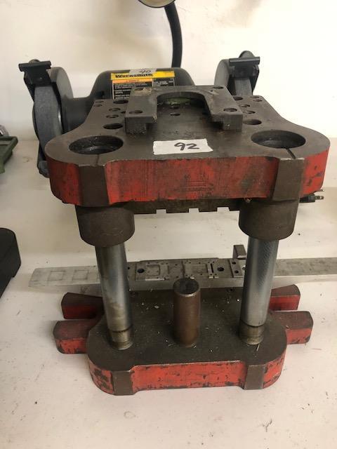 Lot 92 - Scrap metal (part of press)