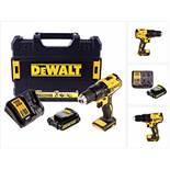 V Brand New DeWalt 18v Brushless Drill Driver With Battery And Charger In DeWalt Plastic Case