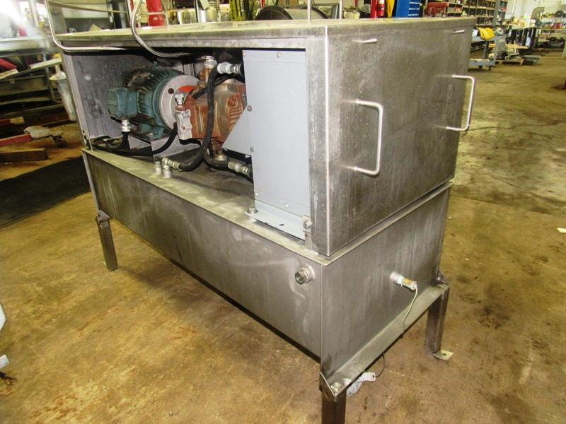 "Lot 41 - Hydraulic Power Pack, 24"" W X 58"" L X 12"" D reservoir, 7.5 h.p., 208/230/460 volt motor, Thomas"