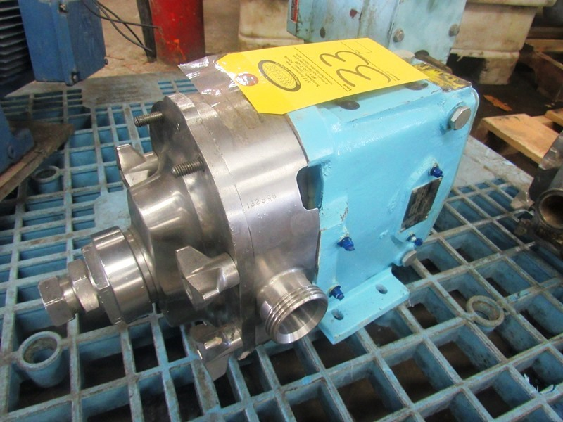 """Lot 33 - Waukesha Mdl. 030 Positive Displacement Pump, 1 1/2"""" inlet/outlet"""