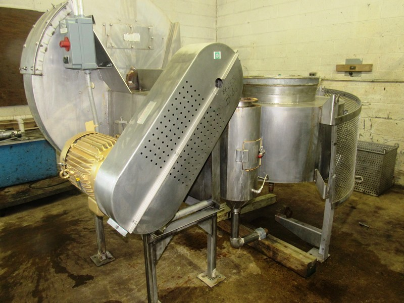 """Lot 47 - AAF International Roto Clone Wet-Type Dust Collector, 14"""" dia. outlet with approximate 30"""" dia."""