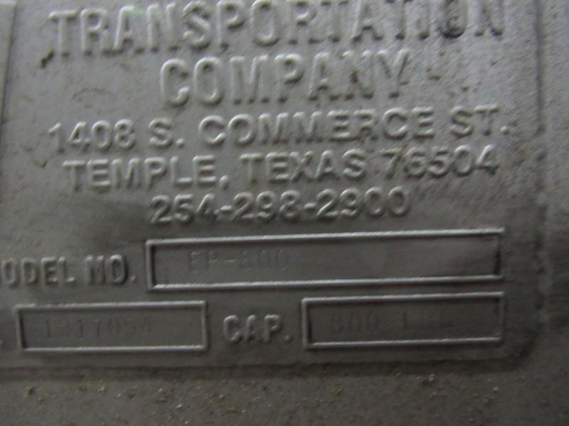 "Lot 45 - MTC Mdl. EP-800 Stainless Steel Vat Elevator/Tilter, Ser. #1317054, 800 Lb. capacity, 47"" W X 8' L"