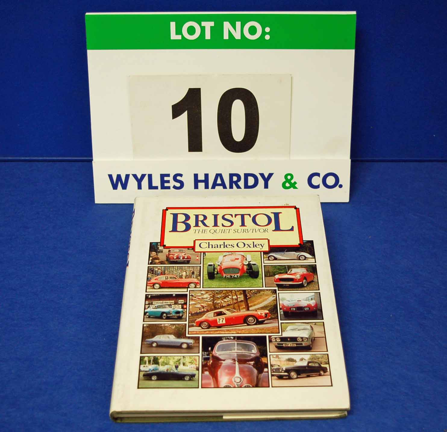 A Copy of the Bristol The Quiet Survivor by Charles Oxley given to Mr. J. Hayward from all his