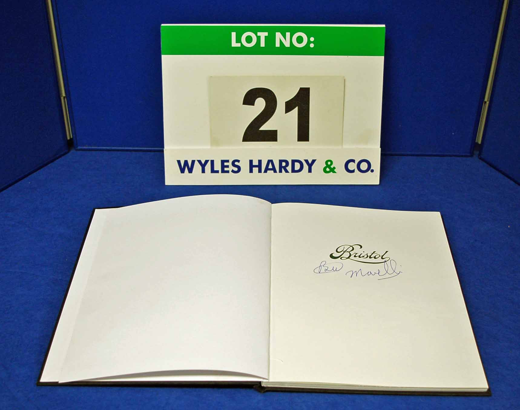 A Copy of Bristol (Version 2) Chronicling the History of Bristol Cars Ltd., signed by Brian - Image 2 of 2
