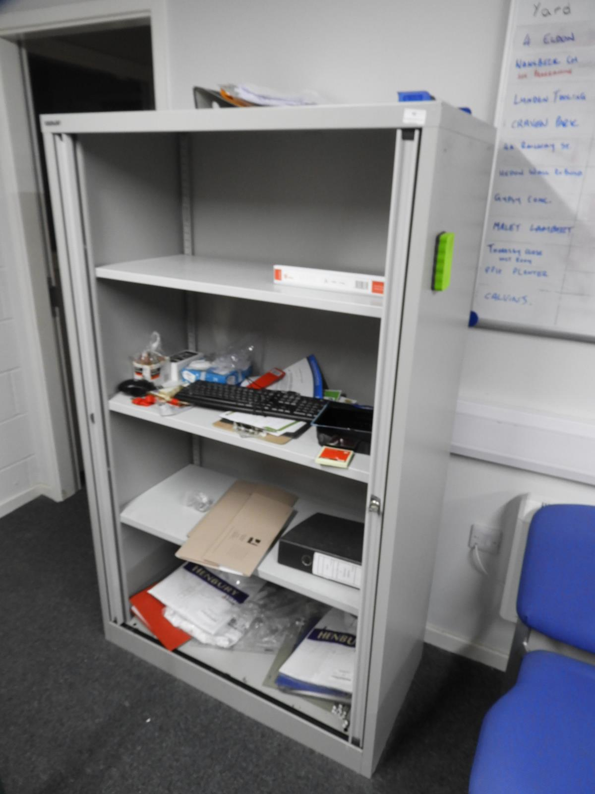 Lot 42 - *Stationery Cabinet and Contents