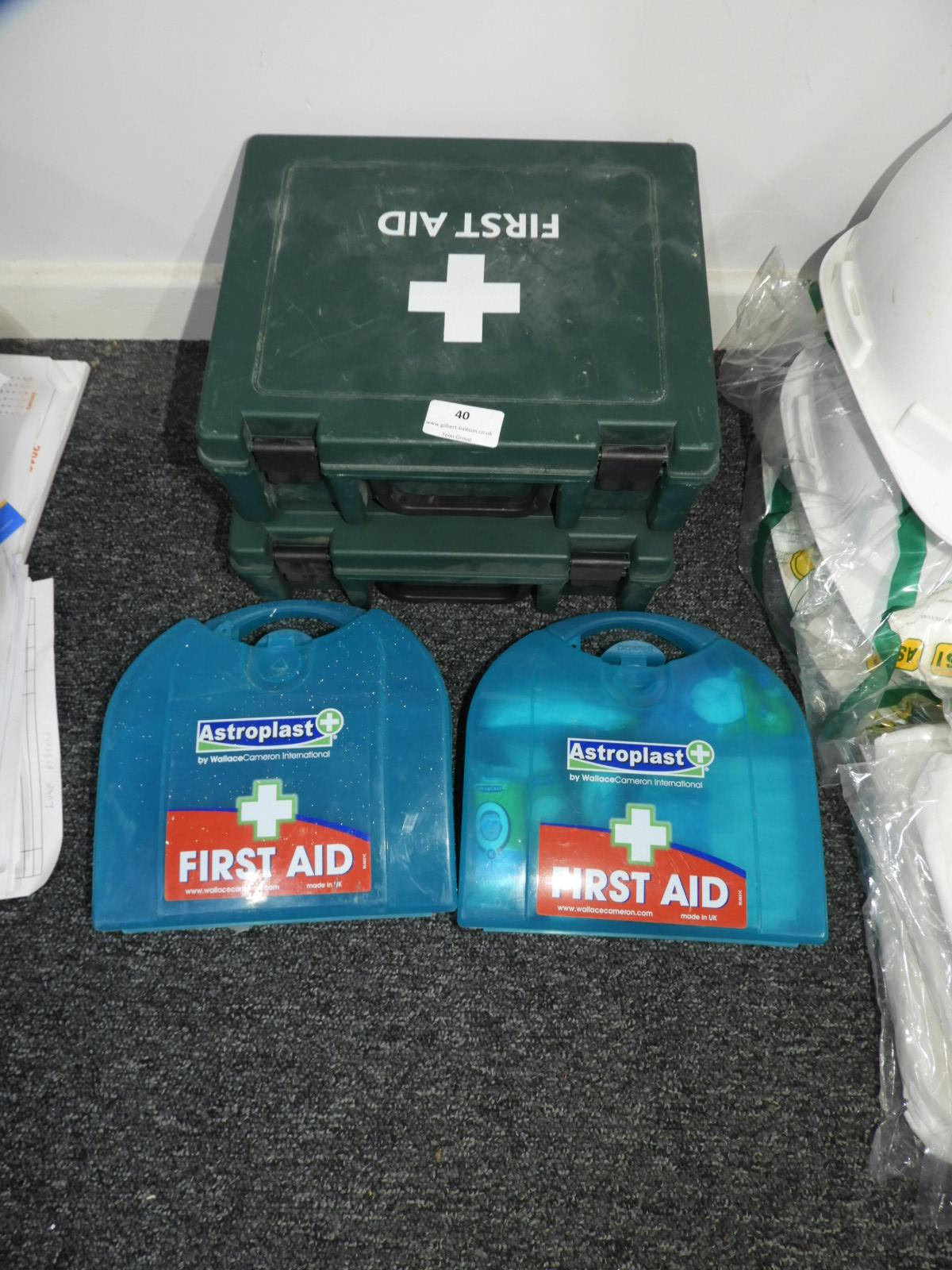 Lot 40 - *Four First Aid Kits