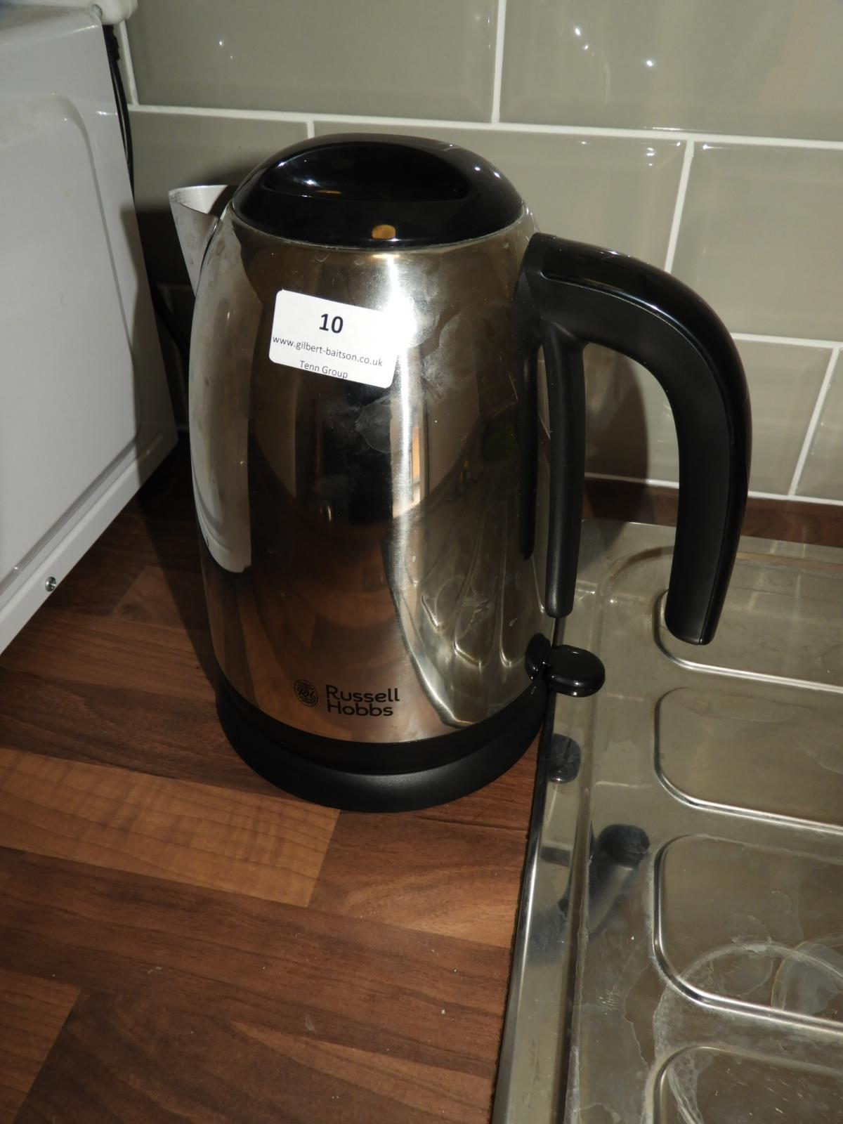 Lot 10 - *Russell Hobbs Polished Chrome Kettle