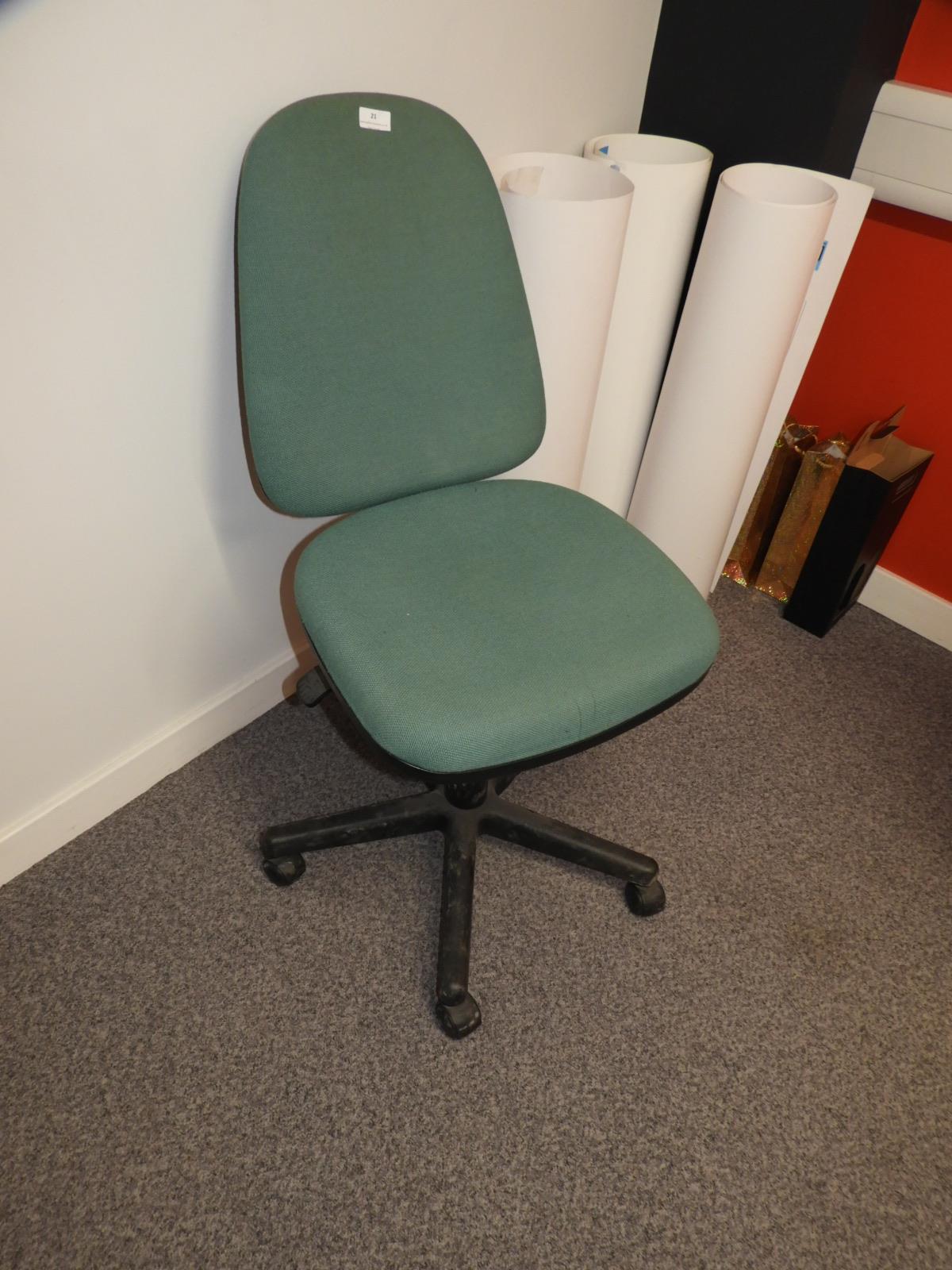 Lot 21 - *Typist Swivel Chair