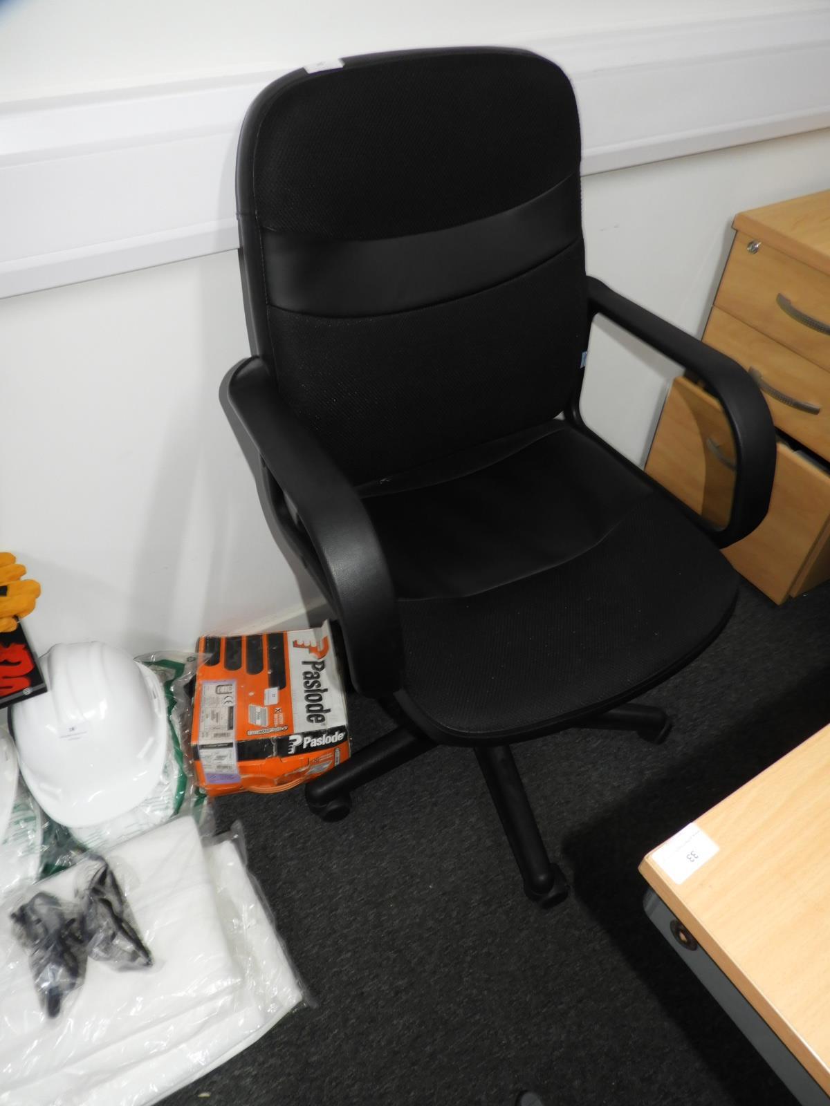 Lot 35 - *Gas Lift Office Armchair