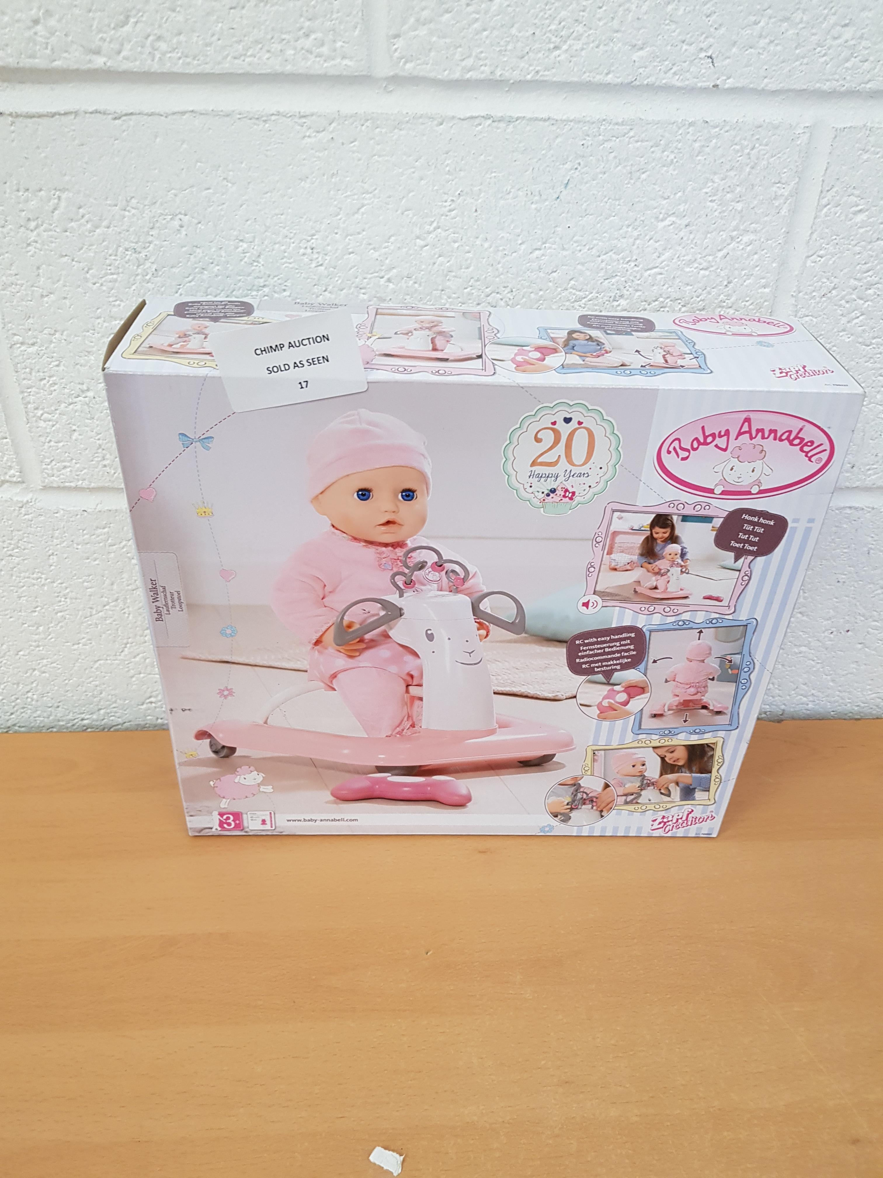 Lot 17 - Baby Annabell Doll Playset