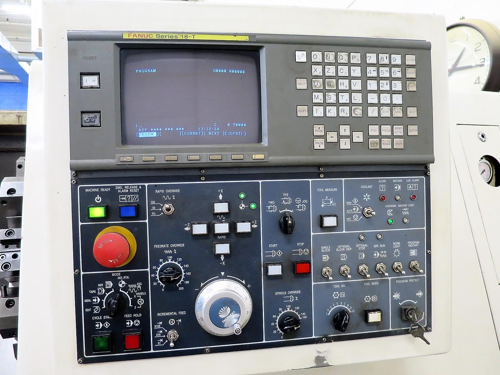 Lot 46 - Daewoo Puma 250 B 2-Axis CNC Lathe, S/N PM250144, New 1997