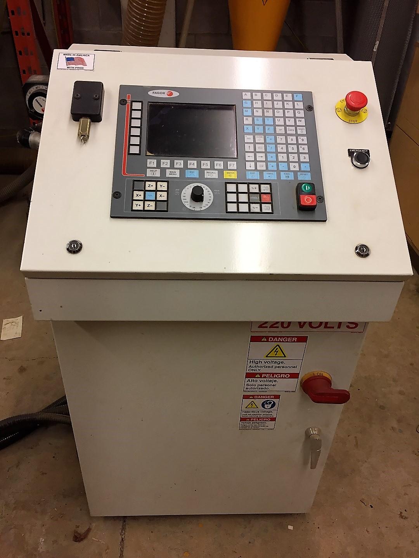 Lot 15 - 4'x8' Freedom Machine Model FMT-F35-4-8-7 CNC Router, S/N 40G&, New 2012