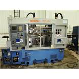 Takamaz XD-101 CNC Twin Spindle Turning Center w/Gantry Loading System, S/N 300445, New 2006