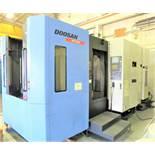 "20""x20"" Doosan HP5500 CNC 4-Axis Horizontal Machining Center, S/N HP550139, New 2008"