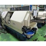 Miyano BNJ-42S, 2 Spindles, 2 Turrets, Live Tools, C-Axis, Lathe, S/N BN80388S, New 2005