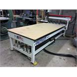 4'x8' Freedom Machine Model FMT-F35-4-8-7 CNC Router, S/N 40G&, New 2012