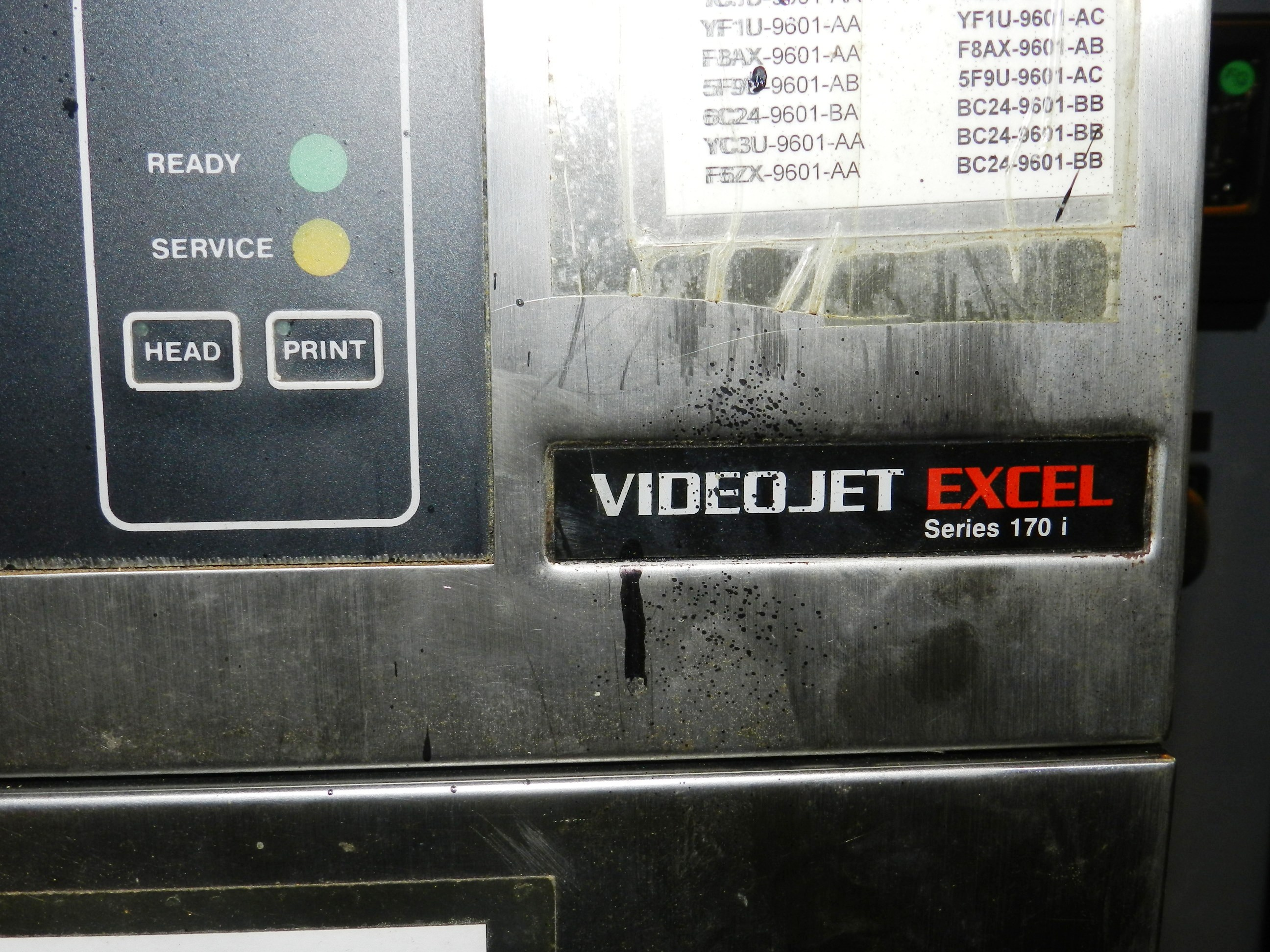 Lot 84 - Videojet Ink Jet Marking Machine Excel 170I