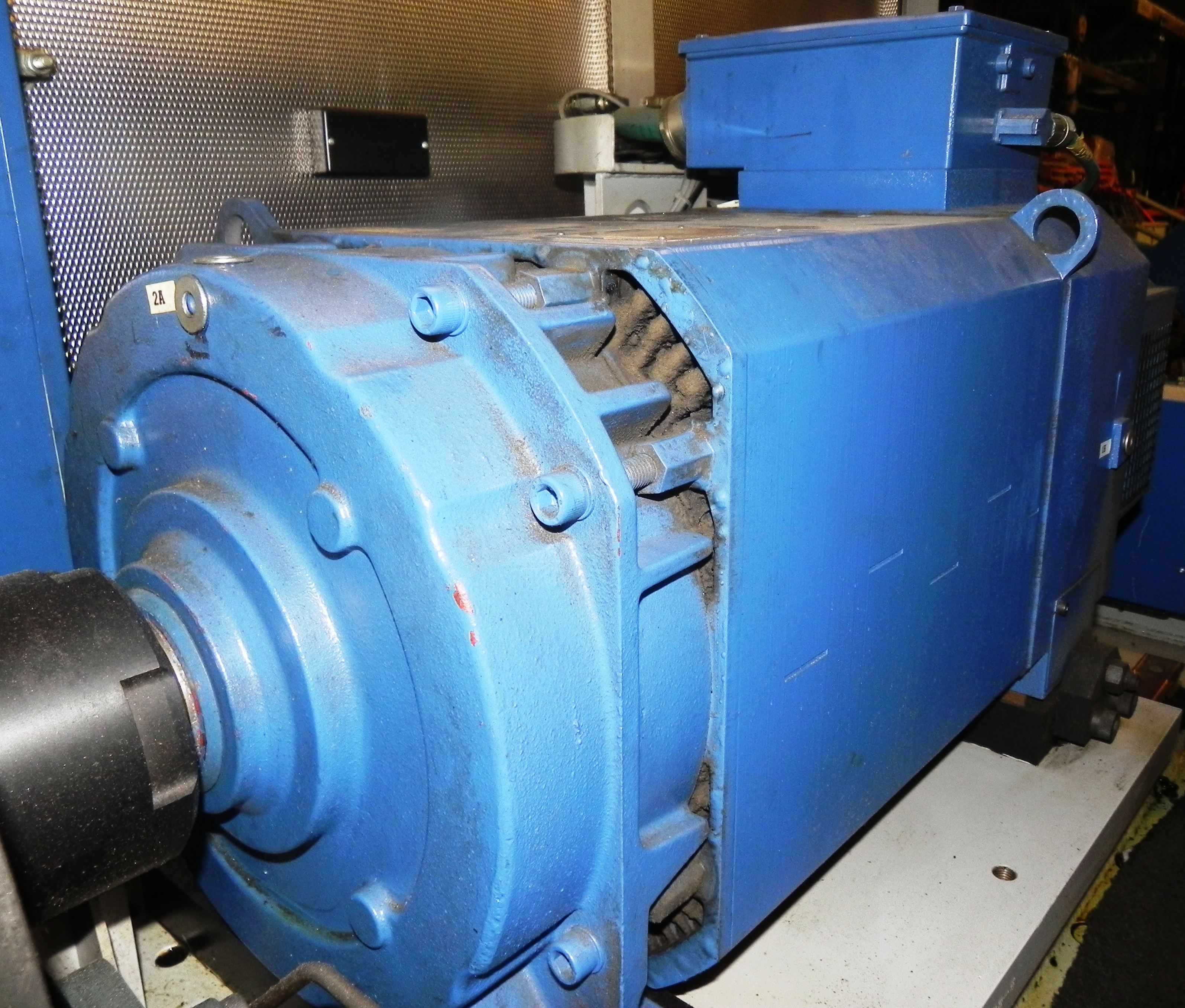 Lot 78 - Siemens 43KW Servo Motor 1PH7186-3NT00-0AA0