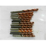 Lot 16 - Lot of 49 - Twist Drill Tooling