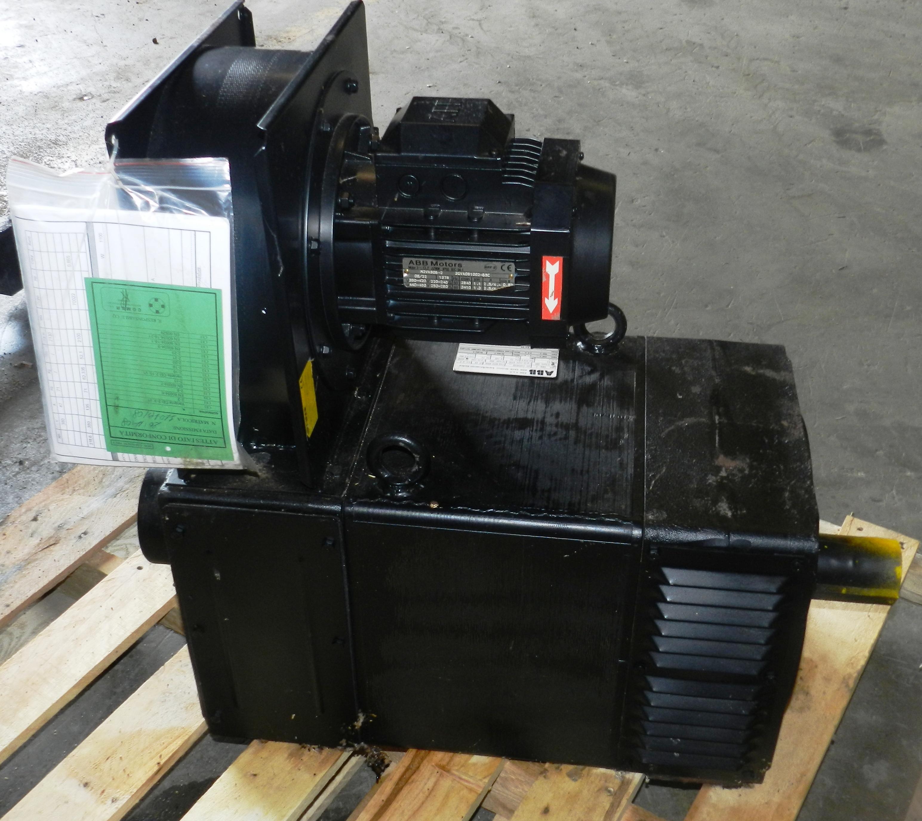 Lot 93 - ABB 70 KW Asynchronous Motor 160L.2