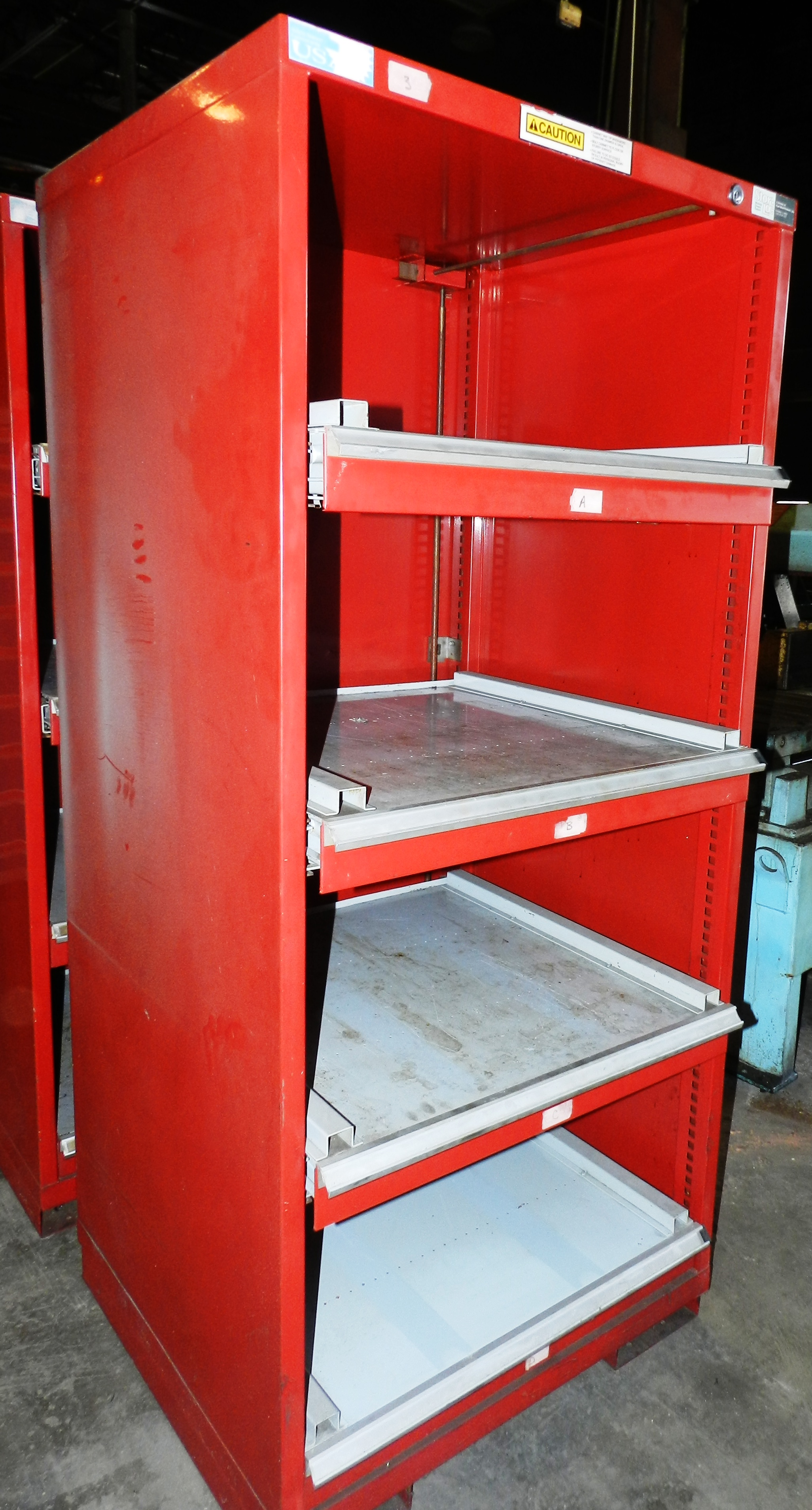 "Lot 73 - Stor-Loc Modular Drawer System 29"" x 28"" x 65.5"" Tool Cabinet"