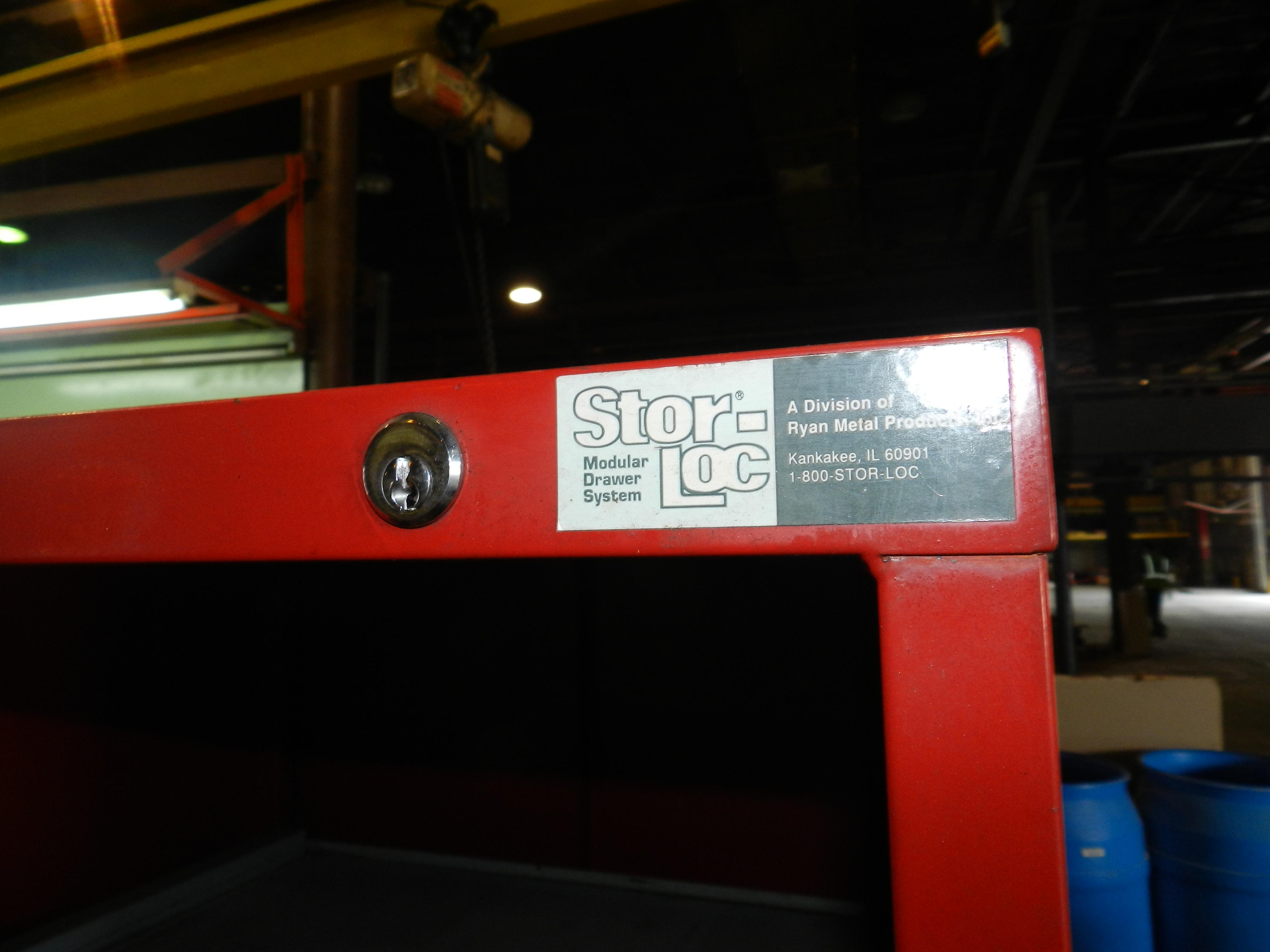 "Lot 74 - Stor-Loc Modular Drawer System 29"" x 28"" x 65.5"" Tool Cabinet"