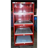"Lot 72 - Stor-Loc Modular Drawer System 29"" x 28"" x 65.5"" Tool Cabinet"