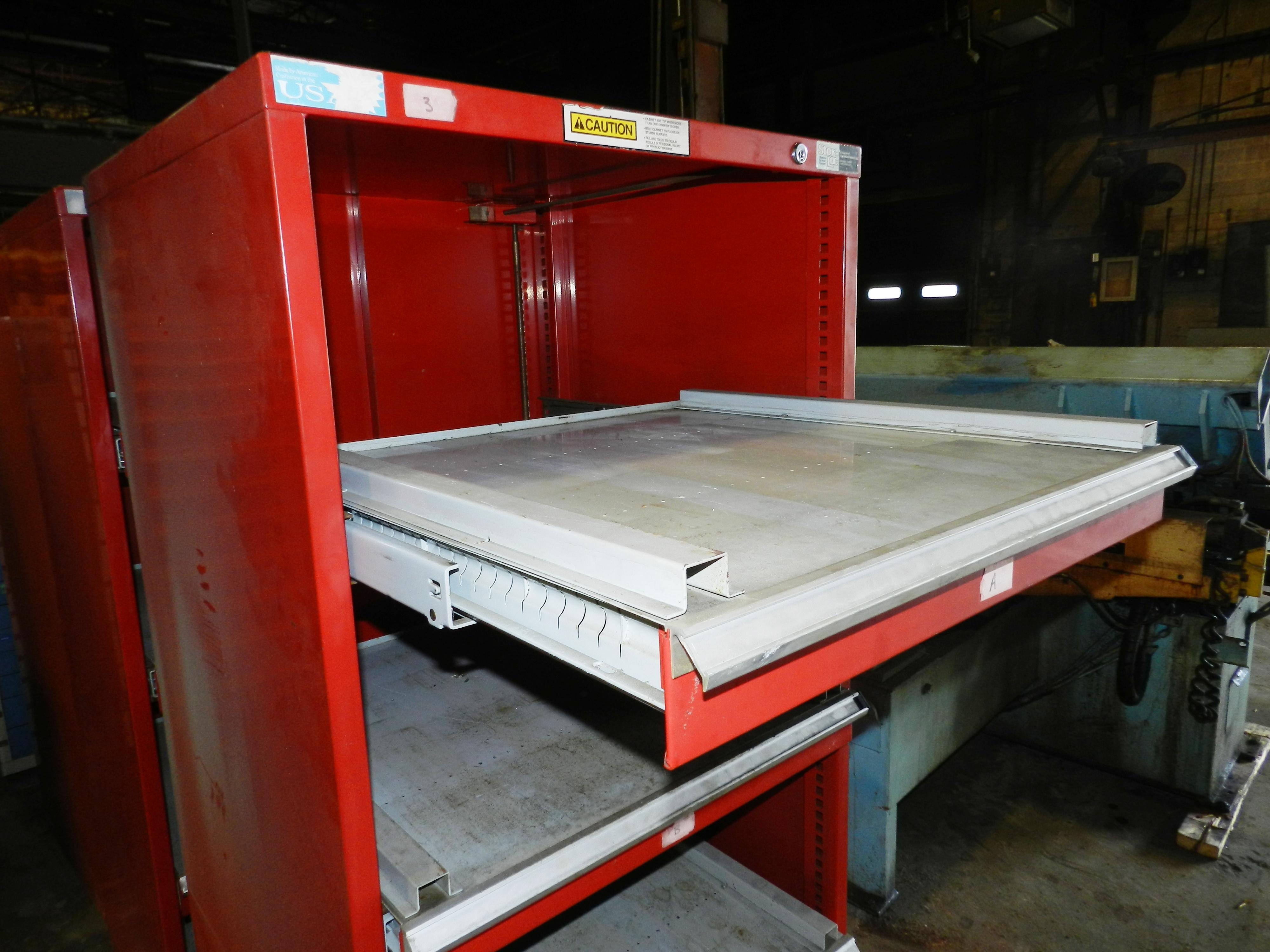 "Lot 73 - Stor-Loc Modular Drawer System 29"" x 28"" x 65.5"" Tool Cabinet"