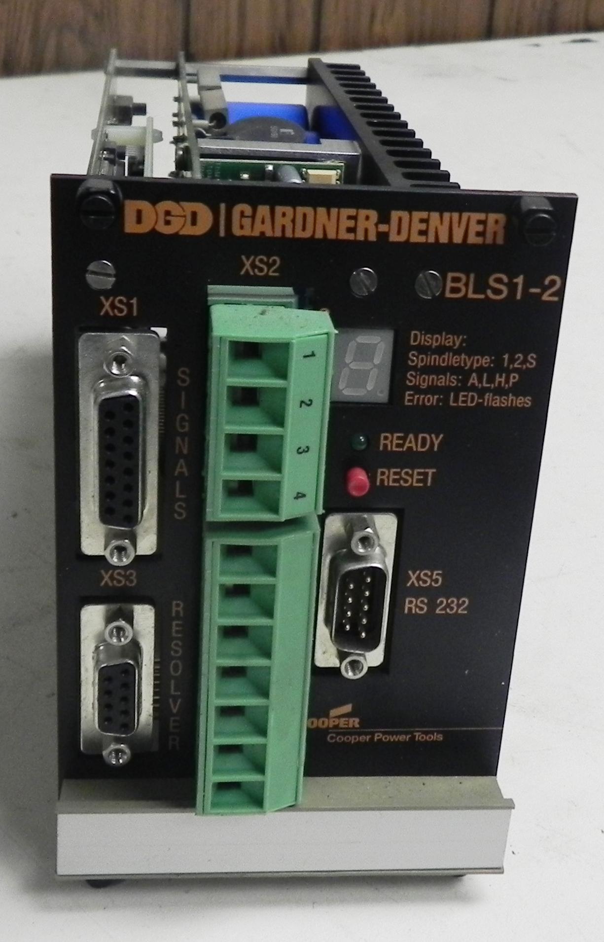 Lot 27 - Gardner Denver Servo Controller Module BLS1-2
