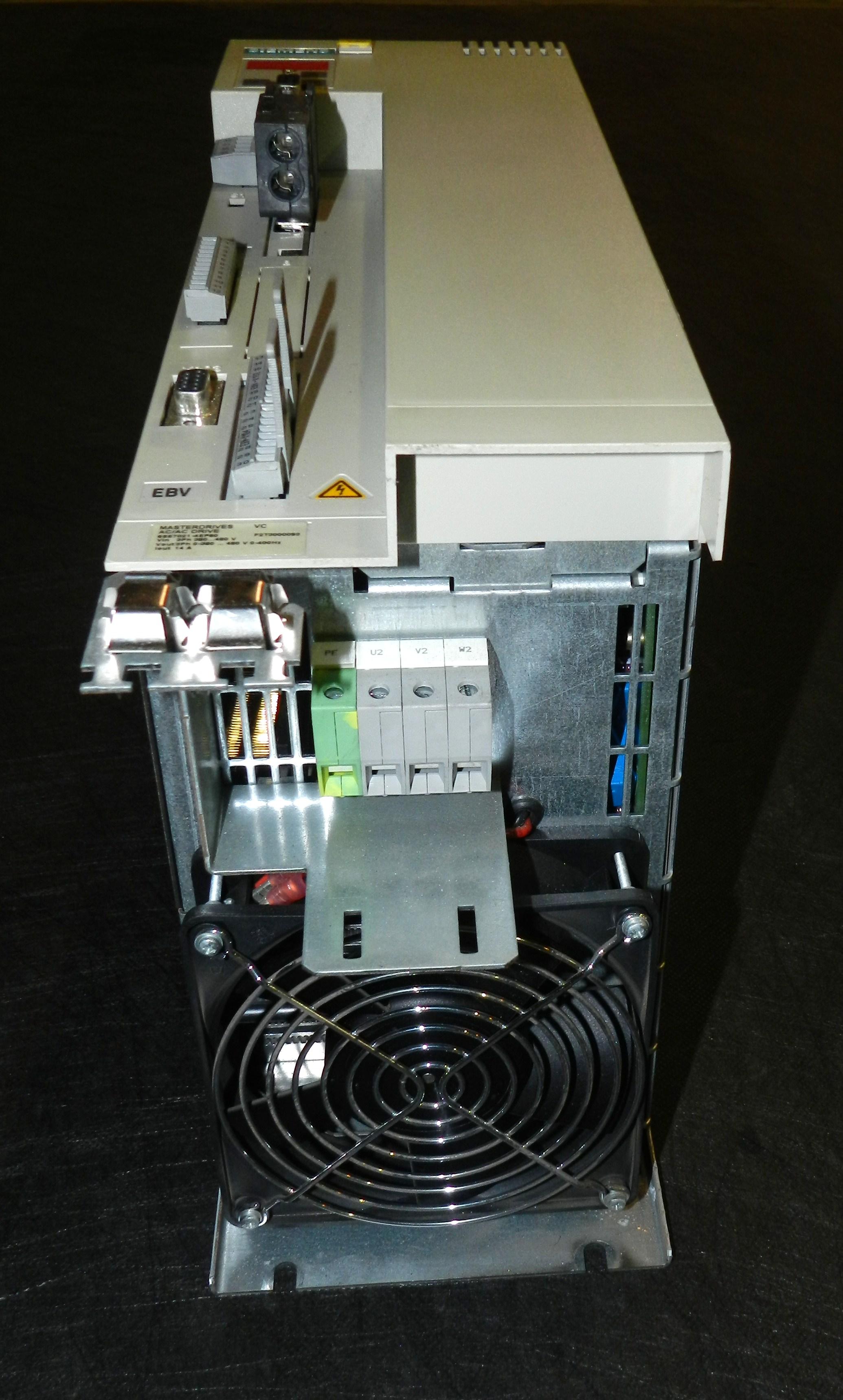 Lot 89 - Siemens 6SE7021-4EP60-Z Z=G91 Masterdrives VC AC/AC Drive